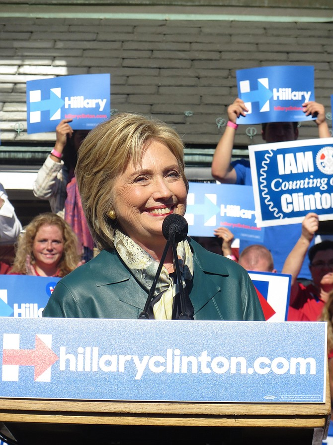 Hillary Clinton, Candidate for the Democratic Nomination for President