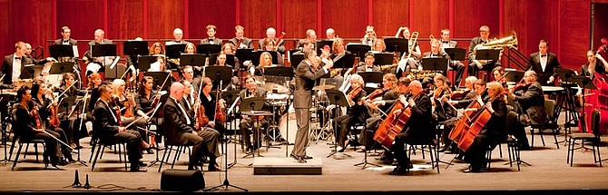 American Festival Pops Orchestra, Anthony Maiello conducting.