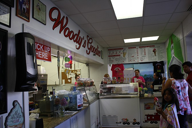 Woody's has been all about ice cream for the past 20 years.