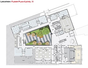 Click On Download Jpg To See Large Plan Artist Rendering Depicting The Proposed First Floor Plan Of The Floris Conservatory Of Fine Arts Music