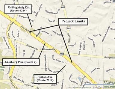 The Virginia Department of Transportation will begin relocating utilities between Reston Avenue and Rolling Holly Drive in the spring as part of the Route 7 widening.