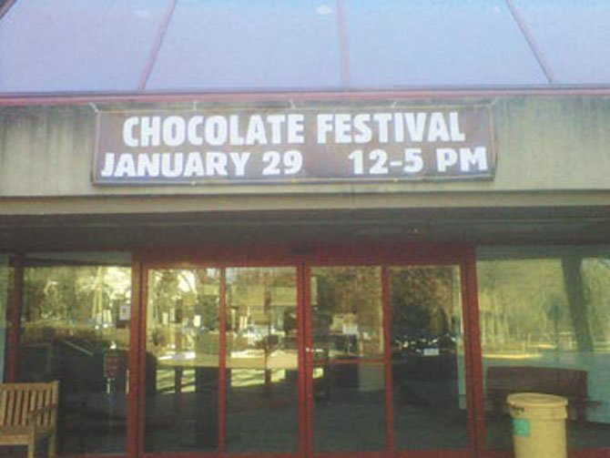 McLean Chocolate Festival will be held on Sunday, Jan. 29, noon to 5 p.m. at the McLean Community Center.