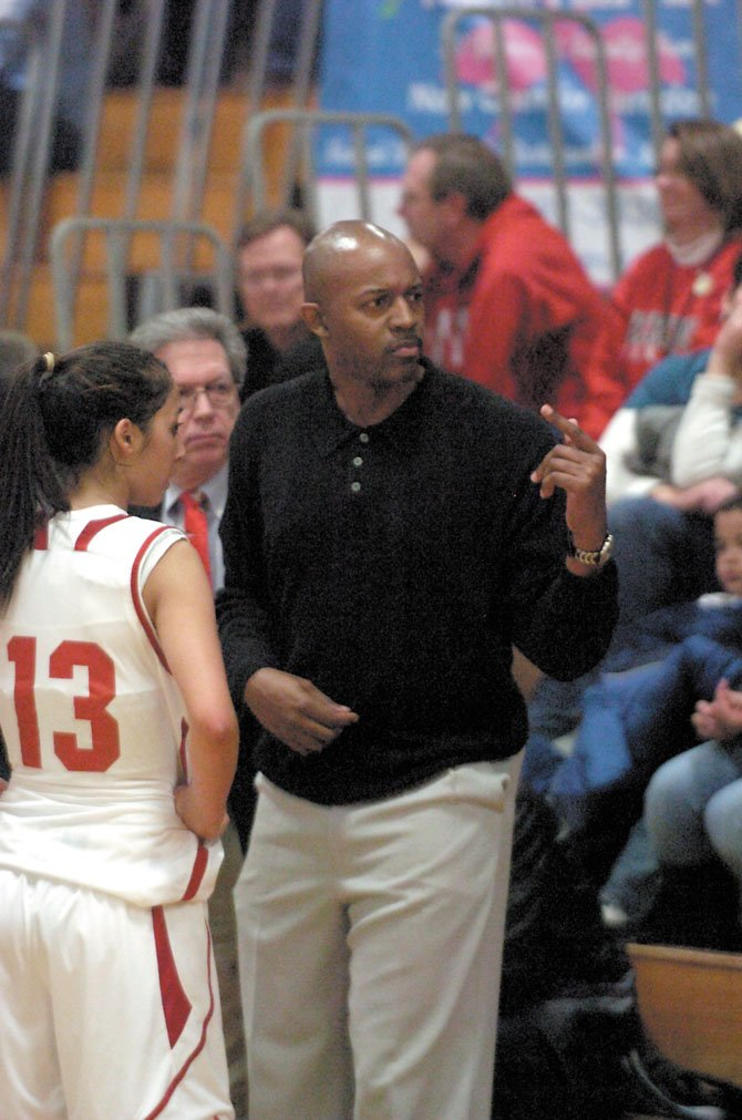 Herndon High girls' head coach Reggie Barnes saw his Hornets win their first six games this season. They are looking to regain that form in district play.