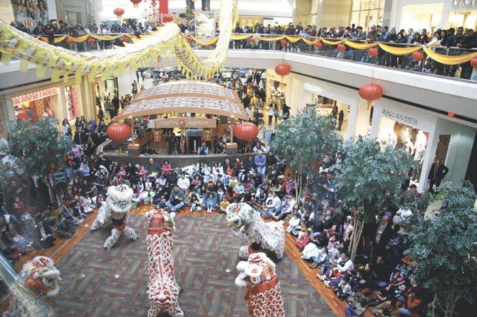 Fair Oaks Lunar New Year Grand Court in 2011