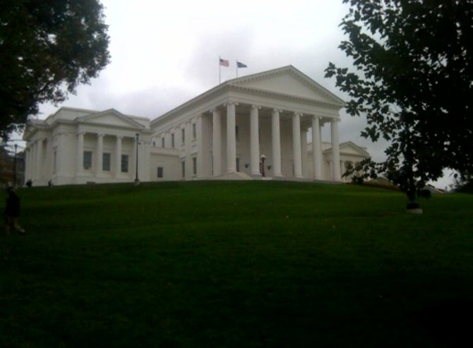 Virginia&#39;s Capitol in Richmond.