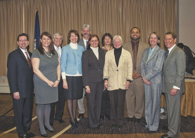 ABC's of Alexandria speakers included Andrew Palmieri, Stephanie Landrum, Val Hawkins, Stephanie Pace Brown, Sharon Eddy, Maria Wasowski, Carol Supplee, City Manager Rashad Young, Kay Tyler and Bill Reagan.
