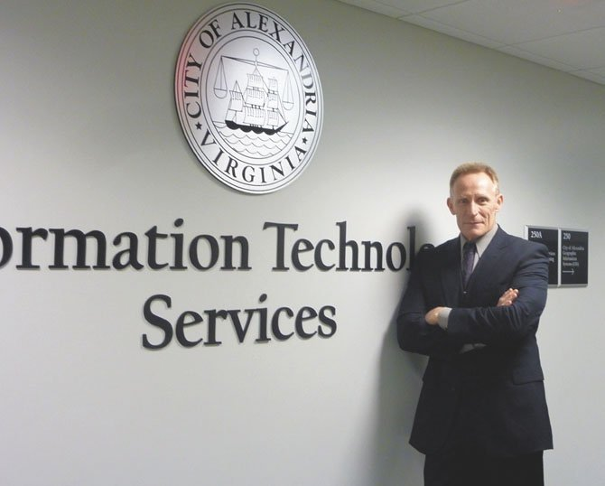 "City of Alexandria Chief Information Officer Tom Trobridge has moved the city's IT infrastructure into the ""cloud."""