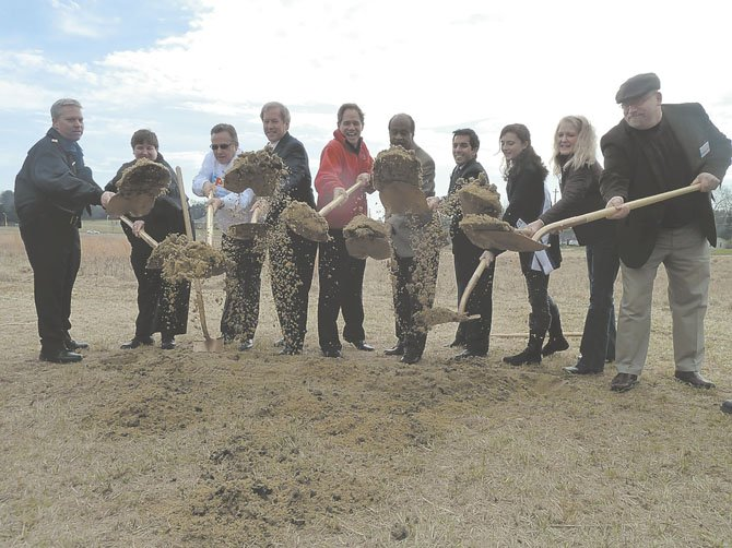 Montgomery County Officials break ground for the Animal Services and Adoption Center.