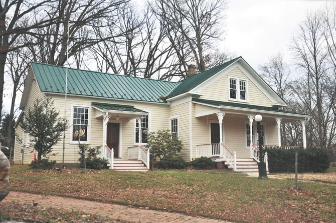 The Old Forestville Schoolhouse is one of the local resources that the Great Falls Citizens Association Long Range Planning Committee hopes to incorporate in their upcoming draft master plan.