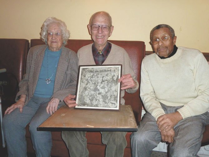 Mary Charlotte Crook, Bob Hanson and Leonard Proctor told stories of Potomac's past.