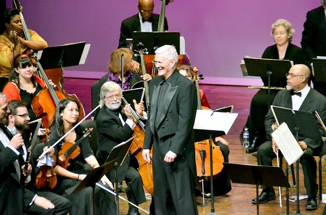 Ulysses S. James conducts the BeethovenFound Philharmonic.