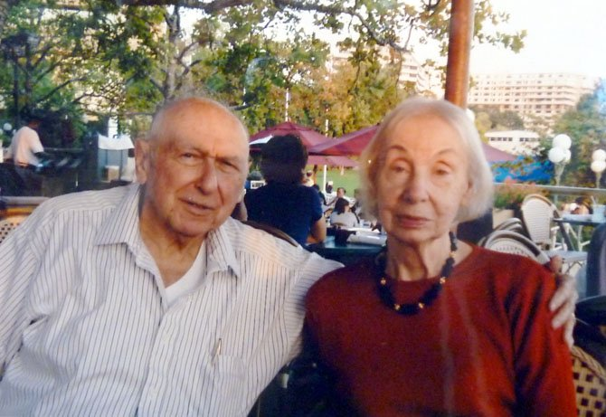 Abe and Betty Ashcanase in recent years.