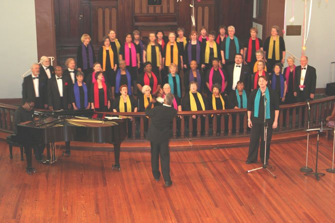 On Feb. 26, Mosaic Harmony will perform at Tall Oaks Assisted Living in Reston.