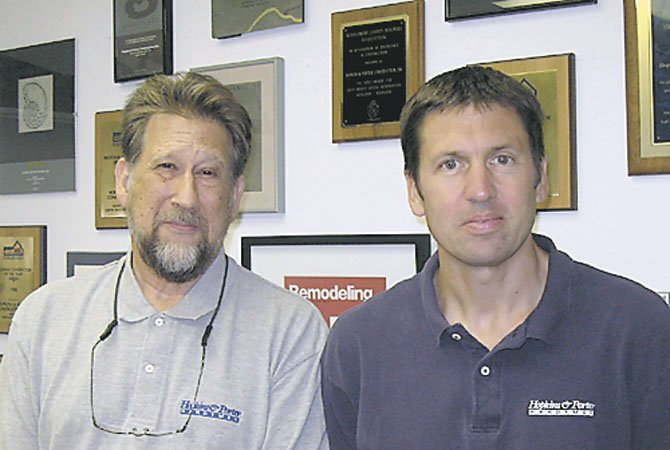 Mike Denker, left, and Todd McPhee. 