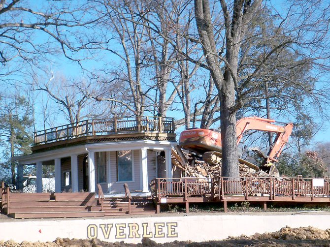 Overlee Clubhouse — Gone