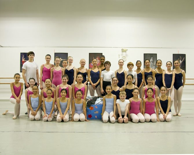 Students of Classical Ballet Theatre in Herndon share their love of dance with less fortunate children in South Africa.