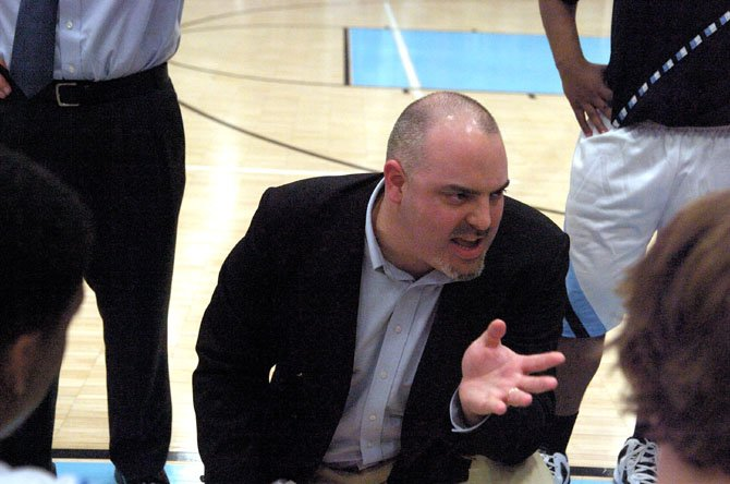 Centreville High boys basketball coach Drew Murphy saw his Wildcats win a game at both the Concorde District and Northern Regional tournaments. 