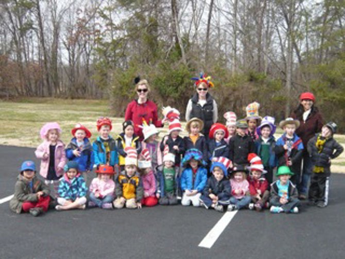"Clifton Children's Academy celebrates Dr. Seuss' birthday with a ""Crazy Hat Parade."""