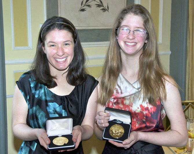Sisters Rachel and Kelsi Okun were recently honored with the Jefferson Award. The Jefferson Award is considered the Nobel Prize for public service.