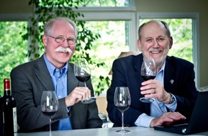 Mike Potashnik and Don Winkler of the International Wine Review.