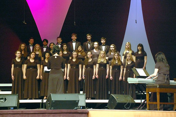 The Paul VI Choir recently received a rating of Superior at the OrlandoFest Music Festival.