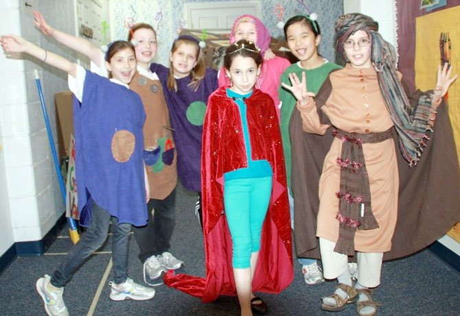 Students from Bells Mill Elementary School will participate in the Odyssey of the Mind World Finals in Iowa in May.