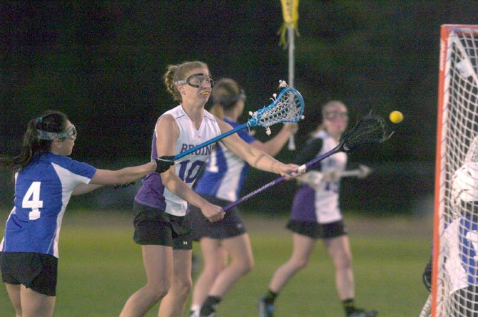 Lake Braddock sophomore Allie Snow scored four goals in a March 26 victory against T.C. Williams.