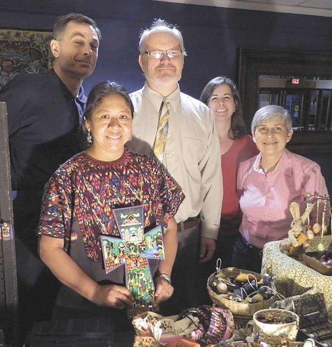 Mission work in Guatemala strives to transform village economics. From left, Mark Gonggoll, Lupe Blevins, Ben Blevins, Patty Kern and Carol Ricciardello.
