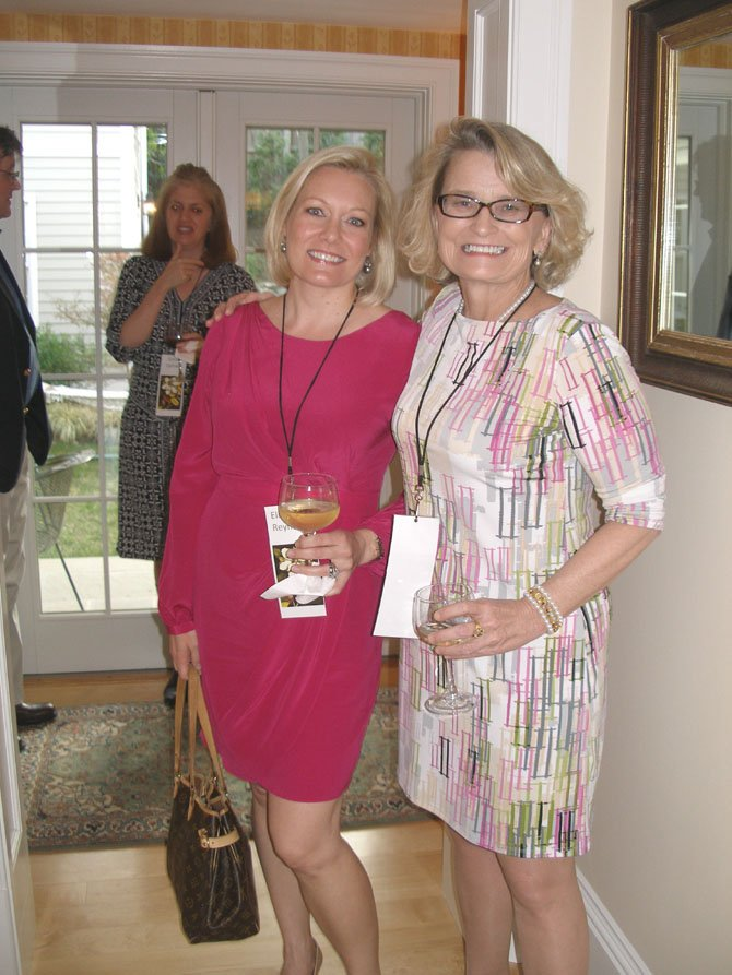 From left: Elizabeth Reynolds, Gala Chair, and Margaret Patterson, CFNC CEO.