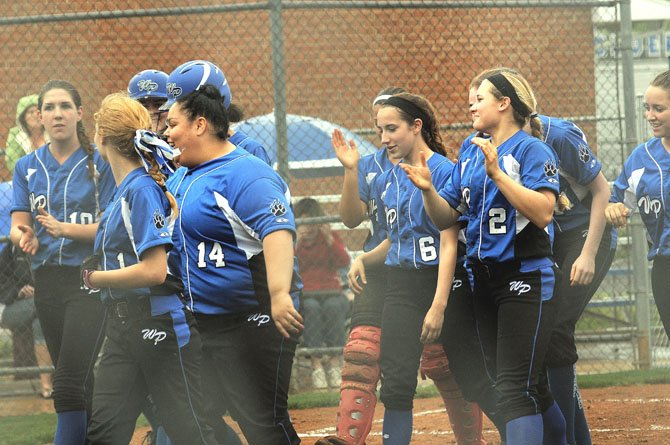 The West Potomac softball team, seen against Edison on March 24, has won nine of its first 10 games.