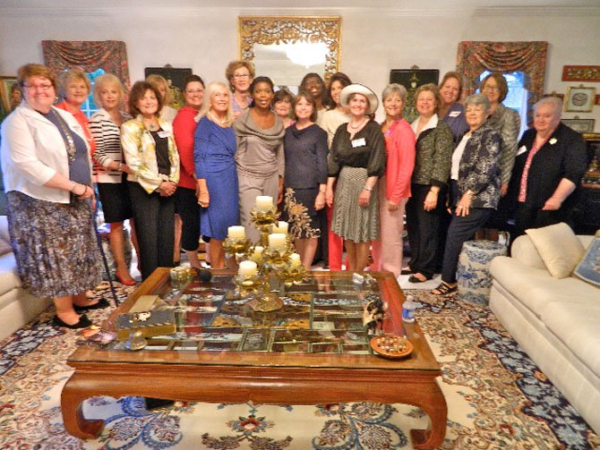 The Republican Women of Clifton annual membership tea featured Star Parker as the keynote speaker.