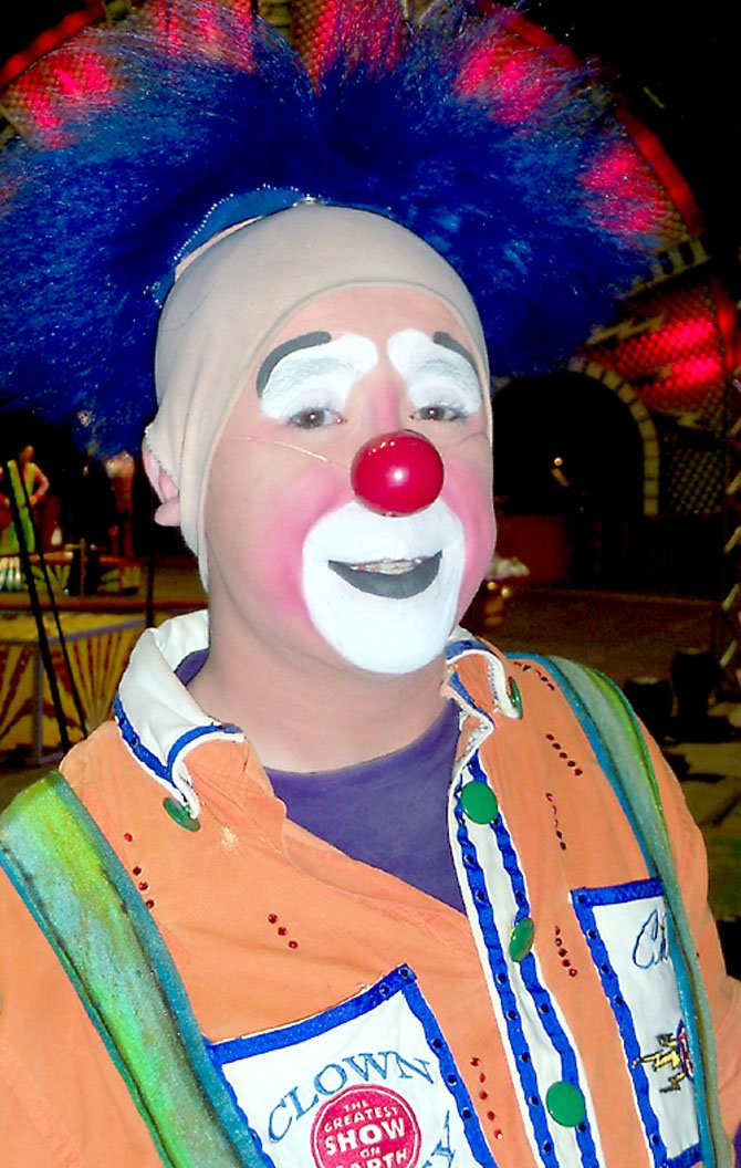 Chris Sullivan of Ringling's Clown Alley