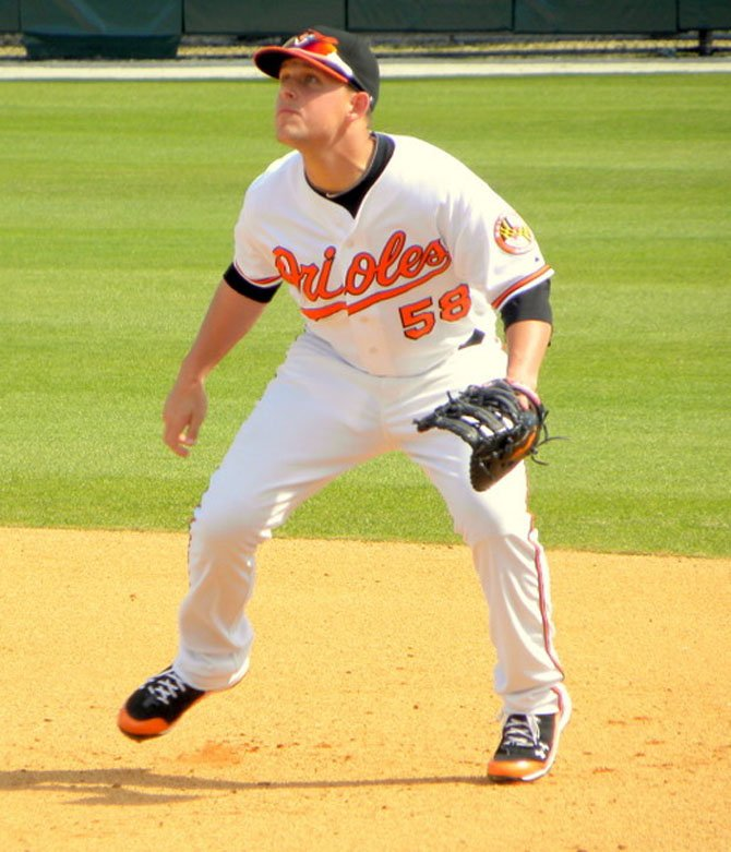 Brandon Snyder was predominantly a first baseman in recent years in the Baltimore organization. Now with Texas, the 26-year old could help the Rangers at a number of positions this season.