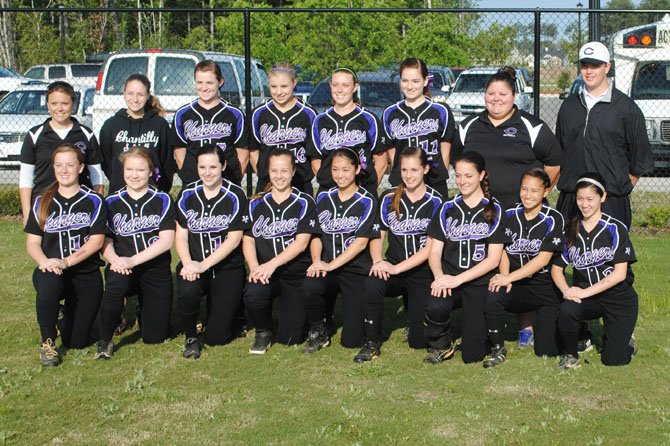The Chantilly Chargers, shown here as a team during last week's spring break trip to Myrtle Beach.