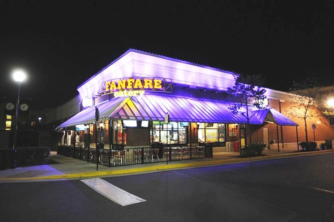 FANFARE celebrated grand-opening party in Fairfax Corner on Saturday, April 14.