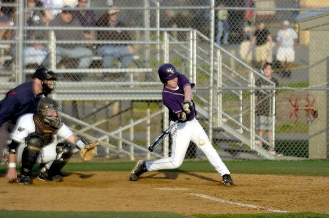 Chantilly High baseball will play a Concorde District game at Robinson this Friday night at 6:30.