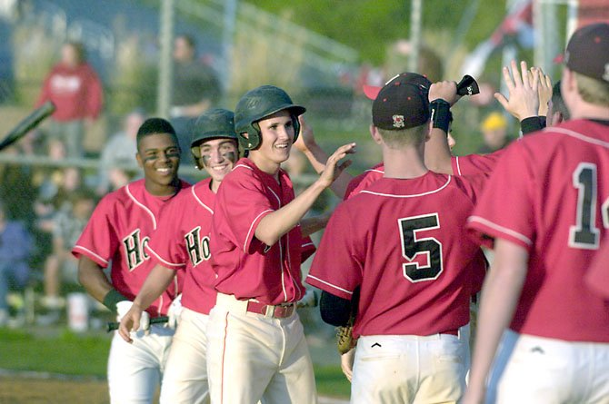 Herndon lost its Concorde District home game to Centreville last Friday, 5-4. Even so, there were good moments for the Hornets during the evening game.