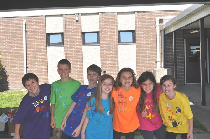 The Stratford Landing Elementary School's 5th grade Odyssey of the Mind team members are Nicholas Greve, Rhys Shallbetter, Lukas Brokamp, Lindsay Johnson, Jenna Mulvihill, Mary Bell, and Lily Penn.