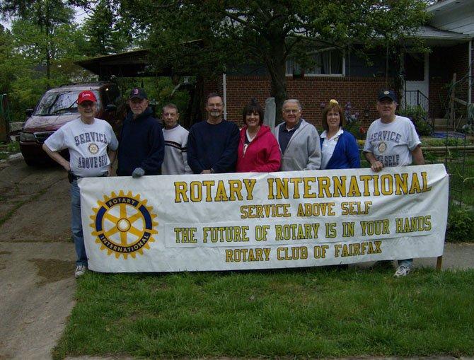 Members of the Service Above Self Task Force (from left): Paul Gauthier, Walt Seedlock, Rick Herrington, John Brice, Laura Hills, Verne Tuininga, Susan Ireland and Ron Hubbard.