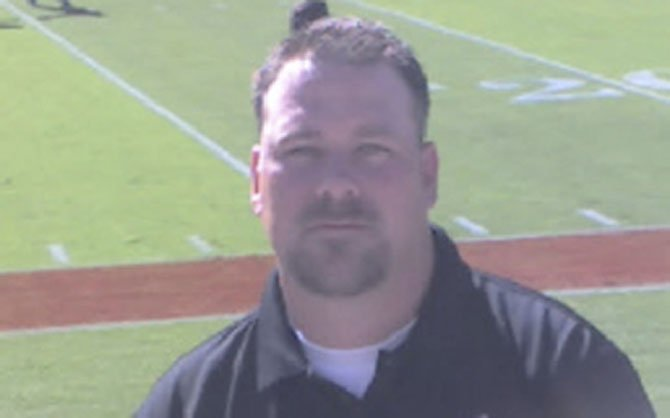 Brian Day was hired as the new Herndon High football coach in mid-January.