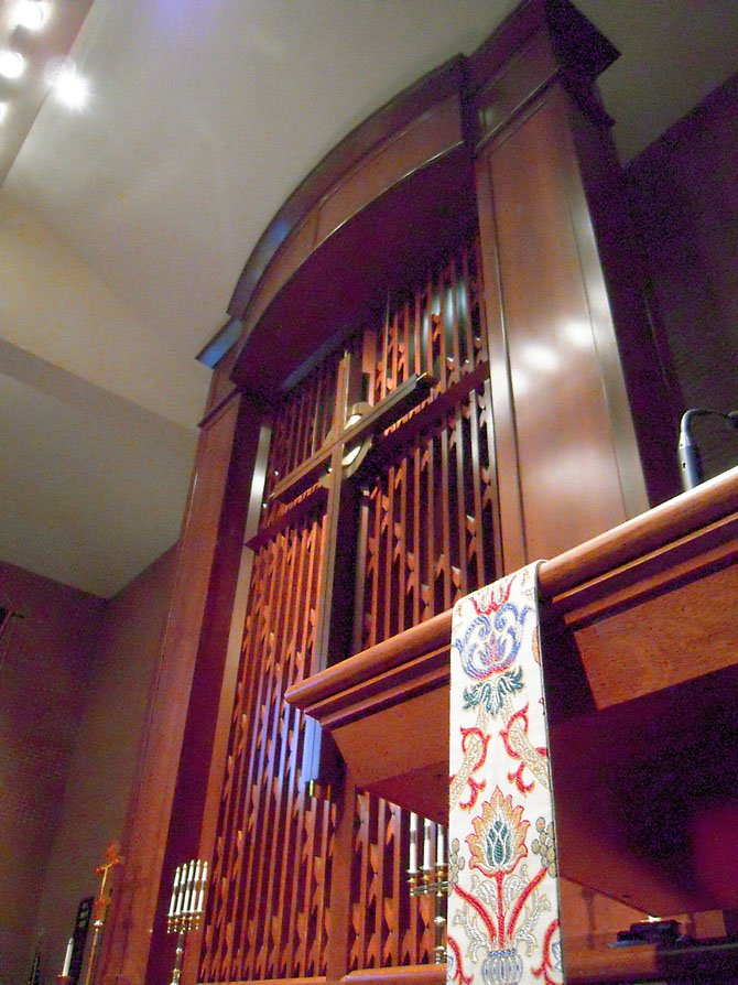 Area residents are invited to tour St. Luke's Church's newly renovated nave and narthex.