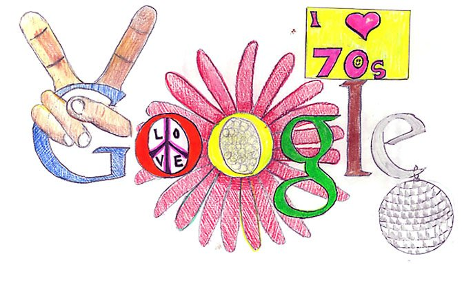 Eileen Powells entry for the Doodle 4 Google Contest.