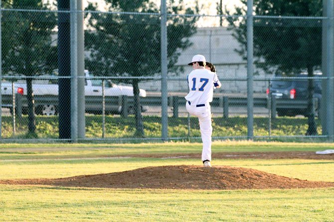 Lee High junior pitcher Will Smith has worked his way into the Lancers' starting rotation this season.