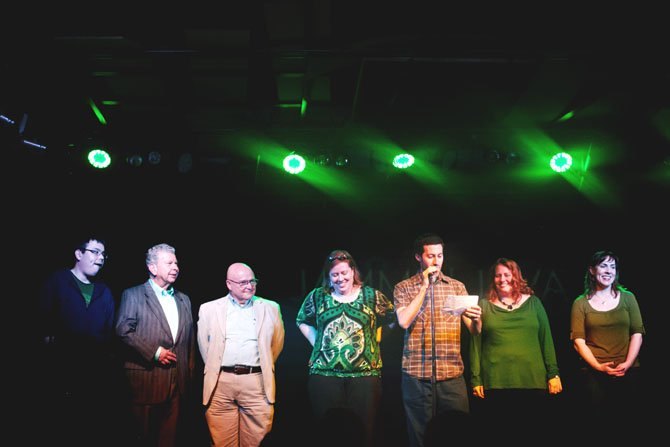 Storytellers at a recent Better Said than Done show in Virginia.
