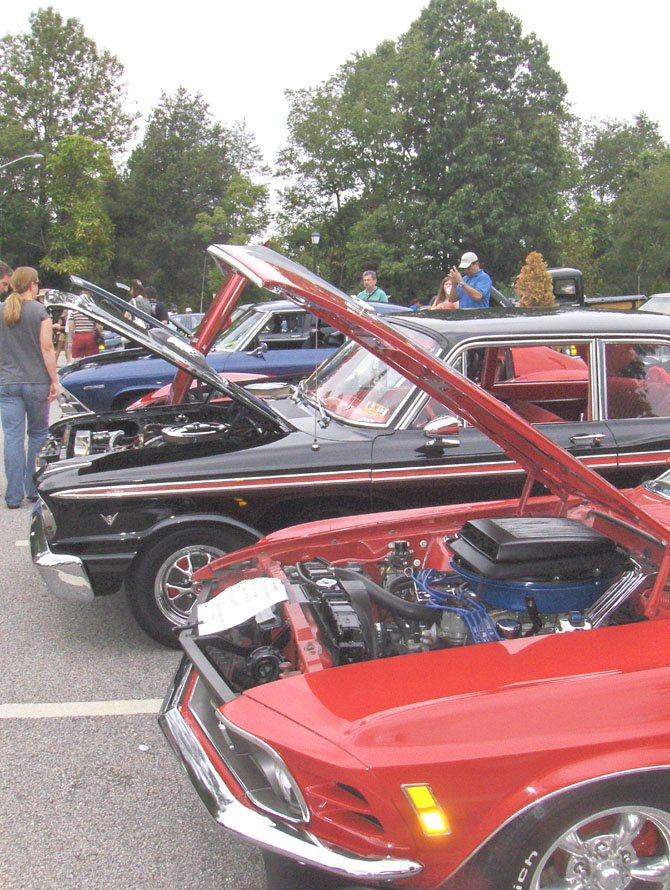 Classic cars such as the ones pictured will be on display during Chantilly Day, May 12.