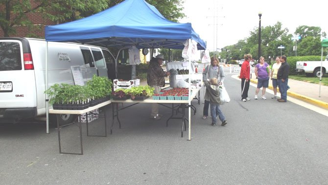 Hutt produce returned for another season at the Herndon farmers market.