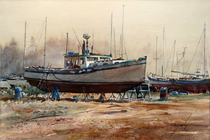 Marina Mist by Betty Ganley.