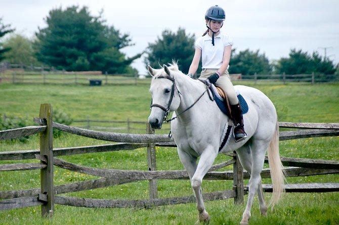 Katie Lane rides Encore