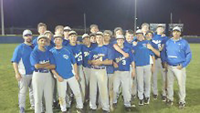 The 2012 West Potomac JV baseball team captured the Patriot District championship with its 6-0 victory over South County on May 7. The win improved the Wolverines' record to 12-1. Coached by Jason Hescock, the team has played at the top of its game all season. Sophomore pitchers Billy Lescher and Mike Barnes, and position players Brett Schaefer and A.J. Melvin are among the team leaders.