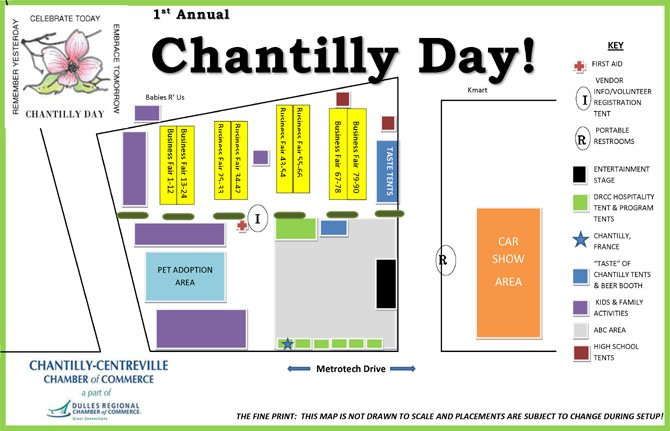 Chantilly Day is Saturday, May 12.